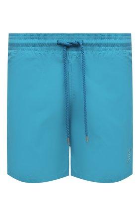 Мужские плавки-шорты VILEBREQUIN голубого цвета, арт. MOOU1D36/332 | Фото 1