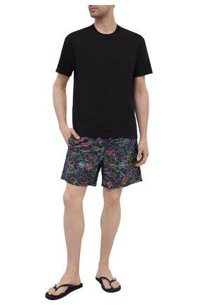 Мужские плавки-шорты VILEBREQUIN разноцветного цвета, арт. MOOU1B89/390 | Фото 2 (Материал внешний: Синтетический материал)