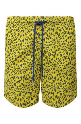 Мужские плавки-шорты VILEBREQUIN желтого цвета, арт. MOOH1B20/105 | Фото 1