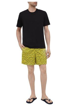 Мужские плавки-шорты VILEBREQUIN желтого цвета, арт. MOOH1B20/105 | Фото 2