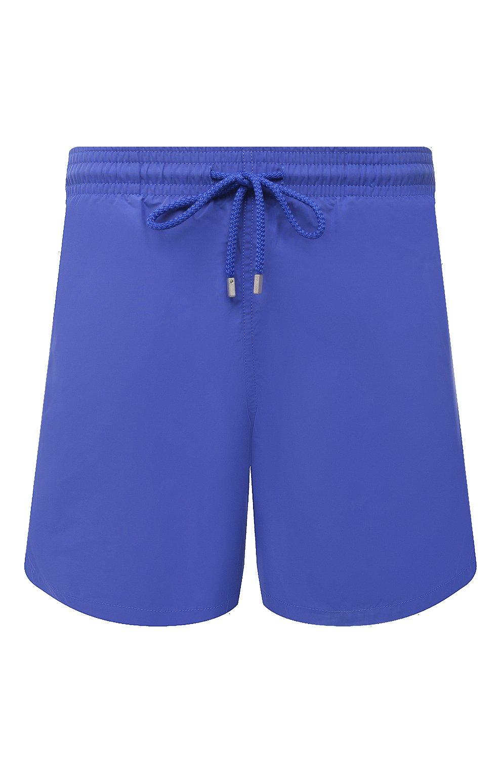 Мужские плавки-шорты VILEBREQUIN фиолетового цвета, арт. MOOC1A00/314 | Фото 1 (Принт: Без принта; Материал внешний: Синтетический материал)
