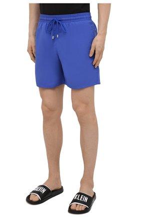 Мужские плавки-шорты VILEBREQUIN фиолетового цвета, арт. MOOC1A00/314 | Фото 3 (Принт: Без принта; Материал внешний: Синтетический материал)