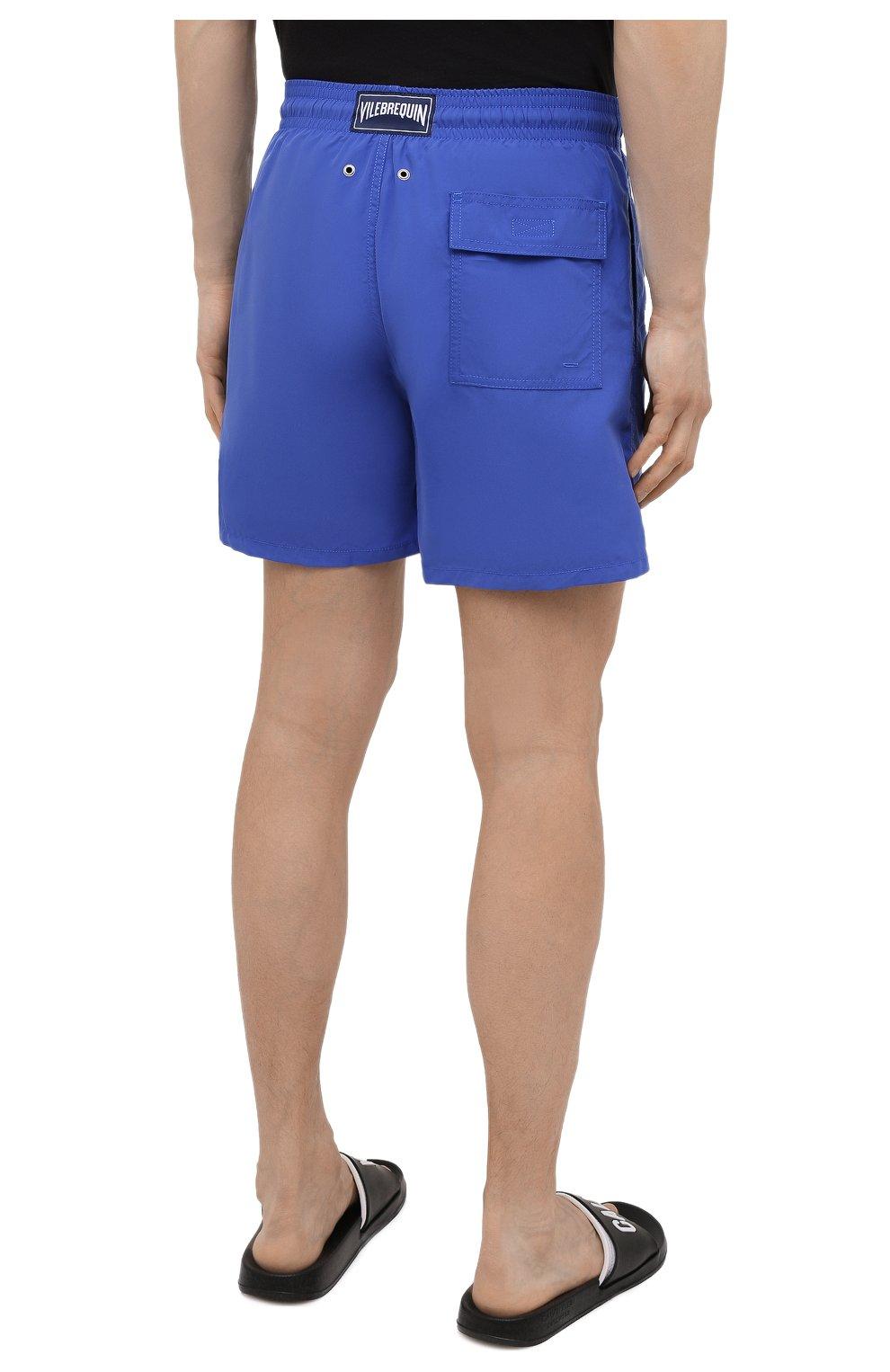 Мужские плавки-шорты VILEBREQUIN фиолетового цвета, арт. MOOC1A00/314 | Фото 4 (Принт: Без принта; Материал внешний: Синтетический материал)