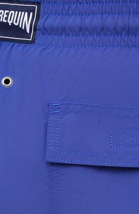 Мужские плавки-шорты VILEBREQUIN фиолетового цвета, арт. MOOC1A00/314 | Фото 5 (Принт: Без принта; Материал внешний: Синтетический материал)