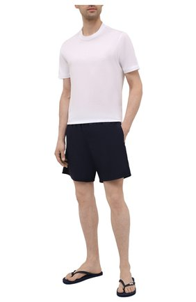 Мужские плавки-шорты VILEBREQUIN темно-синего цвета, арт. MOOP701P/390 | Фото 2