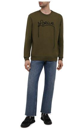 Мужские комбинированные кроссовки BOSS черного цвета, арт. 50455539 | Фото 2 (Материал внешний: Текстиль; Подошва: Массивная; Стили: Спорт)