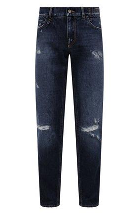 Мужские джинсы DOLCE & GABBANA синего цвета, арт. GWNFCD/G8ED8 | Фото 1