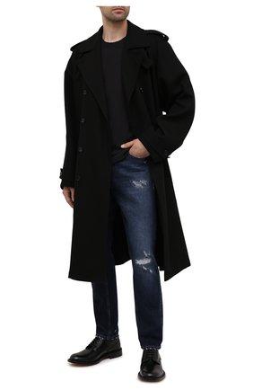 Мужские джинсы DOLCE & GABBANA синего цвета, арт. GWNFCD/G8ED8 | Фото 2