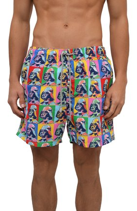 Мужские плавки-шорты MC2 SAINT BARTH разноцветного цвета, арт. STBM GUSTAVIA/GUS0001 | Фото 2