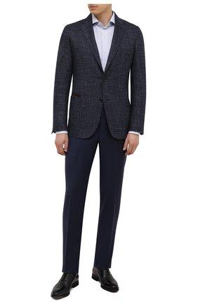 Мужские кожаные оксфорды BARRETT черного цвета, арт. 192U065.13/BETIS CREAM | Фото 2