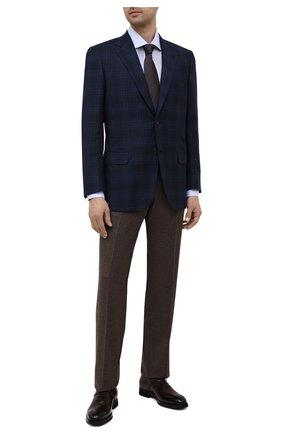 Мужские кожаные оксфорды BARRETT темно-коричневого цвета, арт. 212U013.6/BETIS CREAM | Фото 2