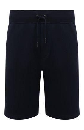 Мужские хлопковые шорты RALPH LAUREN темно-синего цвета, арт. 790774628 | Фото 1