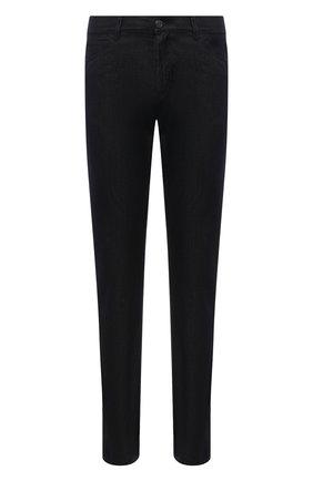 Мужские джинсы GIORGIO ARMANI темно-синего цвета, арт. 6KSJ25/SD1EZ   Фото 1 (Длина (брюки, джинсы): Стандартные; Материал внешний: Хлопок; Силуэт М (брюки): Прямые; Стили: Кэжуэл)