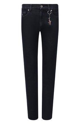 Мужские джинсы PAUL&SHARK темно-синего цвета, арт. 11314112/CYB | Фото 1