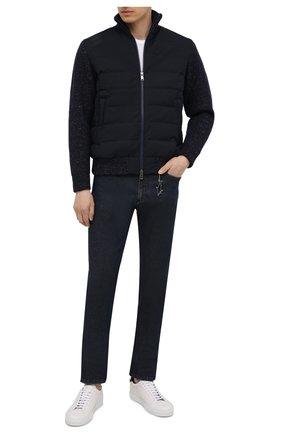 Мужские джинсы PAUL&SHARK темно-синего цвета, арт. 11314112/CYB | Фото 2