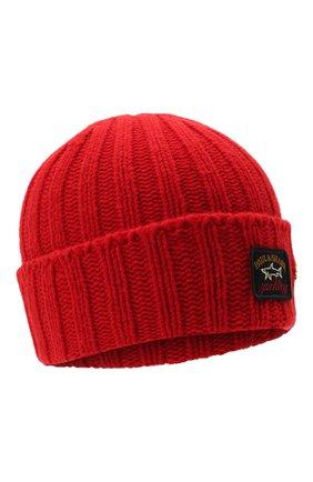 Мужская шерстяная шапка PAUL&SHARK красного цвета, арт. 11317137/GQM | Фото 1