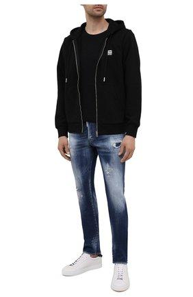Мужские джинсы DSQUARED2 синего цвета, арт. S74LB0954/S30342 | Фото 2