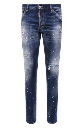 Мужские джинсы DSQUARED2 синего цвета, арт. S74LB0956/S30342 | Фото 1