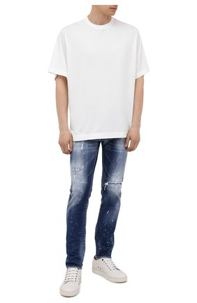 Мужские джинсы DSQUARED2 синего цвета, арт. S74LB0956/S30342 | Фото 2