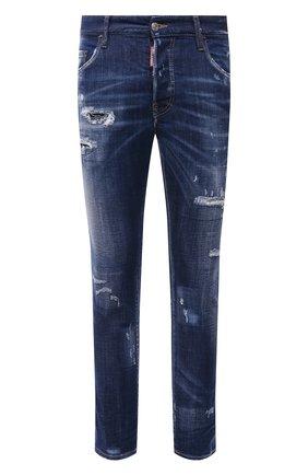 Мужские джинсы DSQUARED2 синего цвета, арт. S74LB0959/S30342 | Фото 1
