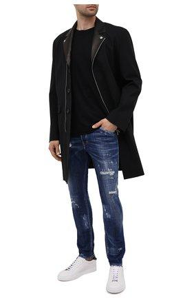 Мужские джинсы DSQUARED2 синего цвета, арт. S74LB0959/S30342 | Фото 2