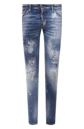 Мужские джинсы DSQUARED2 синего цвета, арт. S74LB0972/S30342 | Фото 1