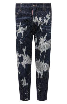 Мужские джинсы DSQUARED2 синего цвета, арт. S74LB1008/S30685 | Фото 1
