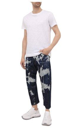 Мужские джинсы DSQUARED2 синего цвета, арт. S74LB1008/S30685 | Фото 2