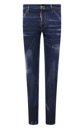 Мужские джинсы DSQUARED2 синего цвета, арт. S74LB1011/S30342 | Фото 1