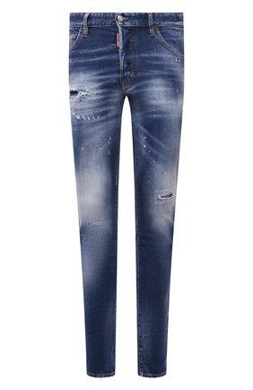 Мужские джинсы DSQUARED2 синего цвета, арт. S74LB1016/S30663 | Фото 1
