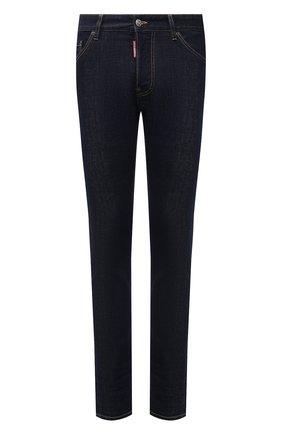Мужские джинсы DSQUARED2 темно-синего цвета, арт. S79LA0035/S30595 | Фото 1