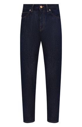 Мужские джинсы VERSACE темно-синего цвета, арт. 1001322/1A00946 | Фото 1