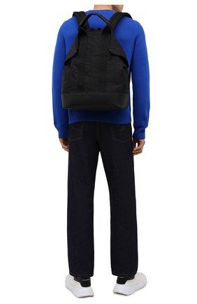 Мужской текстильный рюкзак ALEXANDER MCQUEEN черного цвета, арт. 548663/1AAB6 | Фото 2