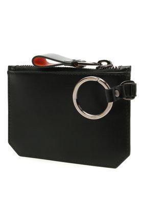 Мужская кожаный футляр для ключей SANTONI черного цвета, арт. UFPPA2126F0-GRT0N01 | Фото 2