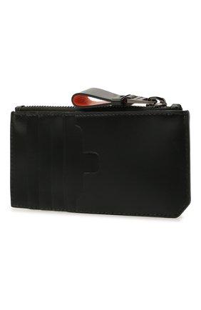 Мужской кожаный футляр для кредитных карт SANTONI черного цвета, арт. UFPPA2124F0-GRT0N01 | Фото 2