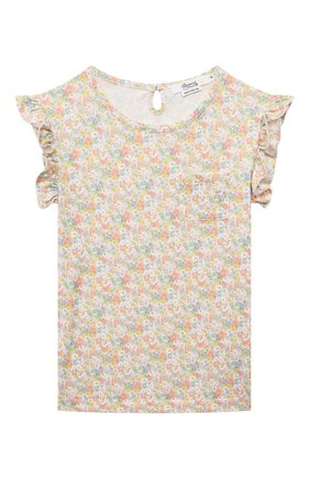 Детская хлопковая пижама BONPOINT разноцветного цвета, арт. S01GNIKN0201(522D)_842473   Фото 2