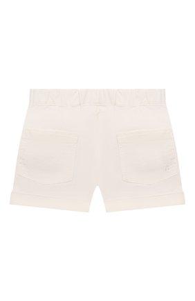 Детские хлопковые шорты BONPOINT белого цвета, арт. S01ZBEWO0502(002)_842874   Фото 2