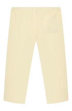 Детские хлопковые брюки BONPOINT  цвета, арт. S01ZPAWO0301(031A)_843010   Фото 2
