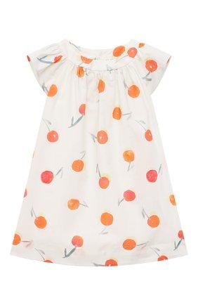 Женский хлопковое платье BONPOINT белого цвета, арт. S01XDRWO0103(651A)_842984   Фото 1