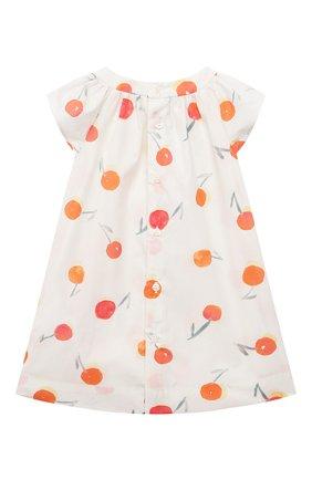Женский хлопковое платье BONPOINT белого цвета, арт. S01XDRWO0103(651A)_842984   Фото 2
