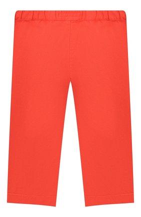 Детские хлопковые брюки BONPOINT красного цвета, арт. S01ZPAWO0201(051D)_842974 | Фото 2 (Материал внешний: Хлопок; Ростовка одежда: 3 мес | 62 см)