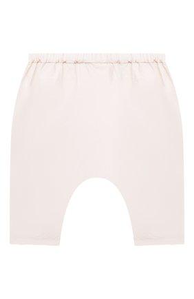 Детские хлопковые брюки BONPOINT светло-розового цвета, арт. S01ZPAWO0402(021)_842851   Фото 2
