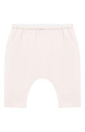 Детские хлопковые брюки BONPOINT светло-розового цвета, арт. S01ZPAWO0402(021)_842852   Фото 1