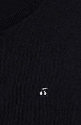 Детский хлопковый кардиган BONPOINT темно-синего цвета, арт. PEBDA3593CA(170)_494369 | Фото 3