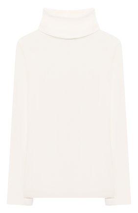 Детская хлопковая водолазка BONPOINT белого цвета, арт. PEBTI3103TE(002)_540160   Фото 1