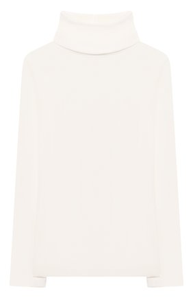 Детская хлопковая водолазка BONPOINT белого цвета, арт. PEBTI3103TE(002)_540162   Фото 1
