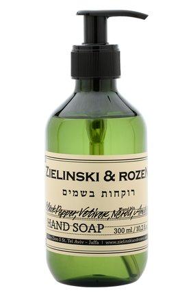 Жидкое мыло black pepper & amber, neroli ZIELINSKI&ROZEN бесцветного цвета, арт. 7290018419496   Фото 1