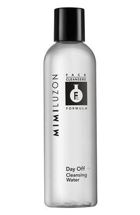 Очищающая мицеллярная вода для удаления стойкого макияжа day off+ MIMI LUZON бесцветного цвета, арт. 7290016111538 | Фото 1