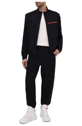 Мужская куртка PRADA черного цвета, арт. SGB452-1T2Z-F0002-201 | Фото 2