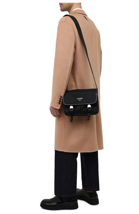 Мужская текстильная сумка PRADA черного цвета, арт. 2VD769-2DMH-F0002-OLO | Фото 2